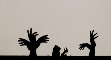 Rankų šešėlių teatro BUDRUGANA LIETUVA spektalis KETURI METŲ LAIKAI