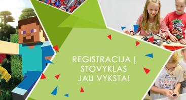 Robotikos stovykla Vilniuje