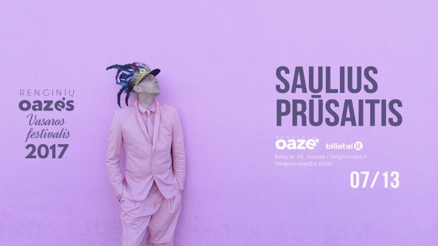 Sauliaus Prūsaičio koncertas