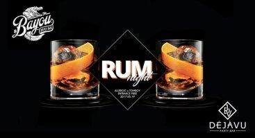 Bayou Rum Night