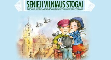 """Tarptautinis akordeonų orkestrų festivalis """"Senieji Vilniaus stogai"""""""