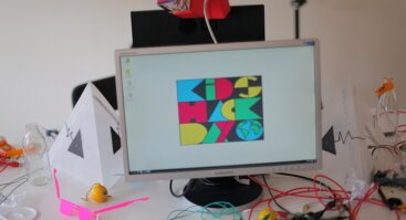 Kids Hack Day Klaipėda - kūrybinio konstravimo dirbtuvės