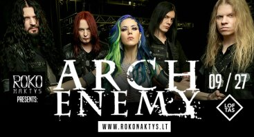 Roko naktys presents: Arch Enemy