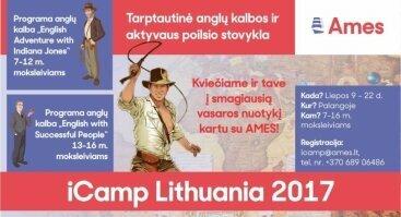 ICAMP Lithuania - Tarptautinė anglų kalbos stovykla Palangoje