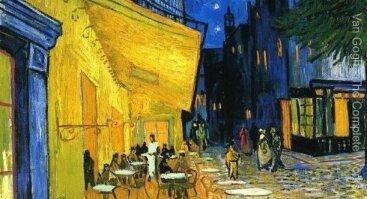 Tapome V. van Gogh Kavinės terasą