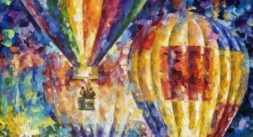Tapome L. Afremov Oro balionus