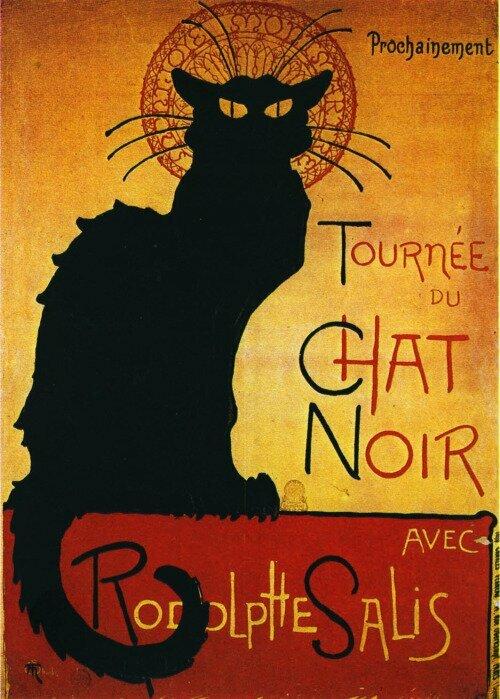 Tapome T. Lautreck juodą katiną