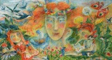 """Gaivos Paprastosios tapybos paroda """"Dienoraščių pasakos"""""""