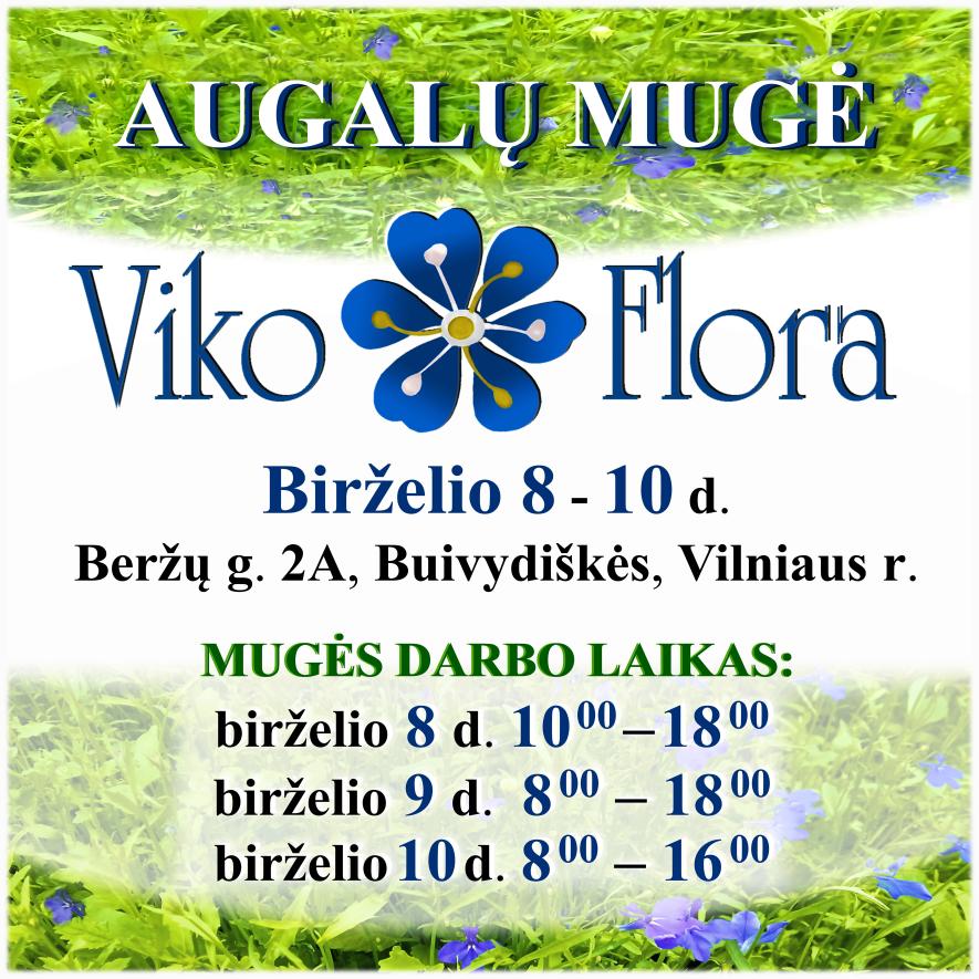 """Augalų mugė """"VikoFlora 2018"""""""