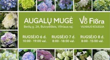 """Augalų mugė """"VikoFlora 2019. Ruduo"""""""