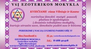 ATVIRŲ DURŲ diena Ezoterikos mokykloje