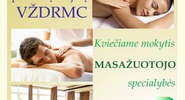 Kviečiame mokytis masažuotojo specialybės!