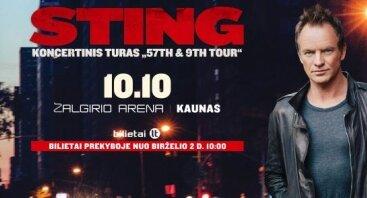 """Sting """"57th & 9th"""" turo koncertas"""