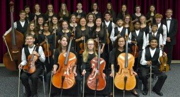 Vaikų styginių orkestras iš JAV
