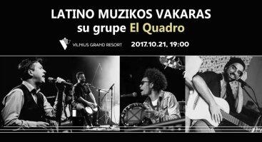 "Lotino muzikos vakaras ""El Quadro"""
