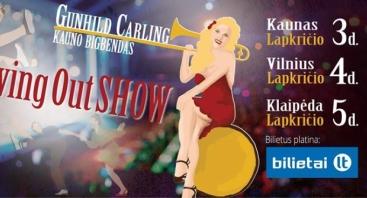 Gunhild Carling ir Kauno bigbendas l SwingOut turas per Lietuvą