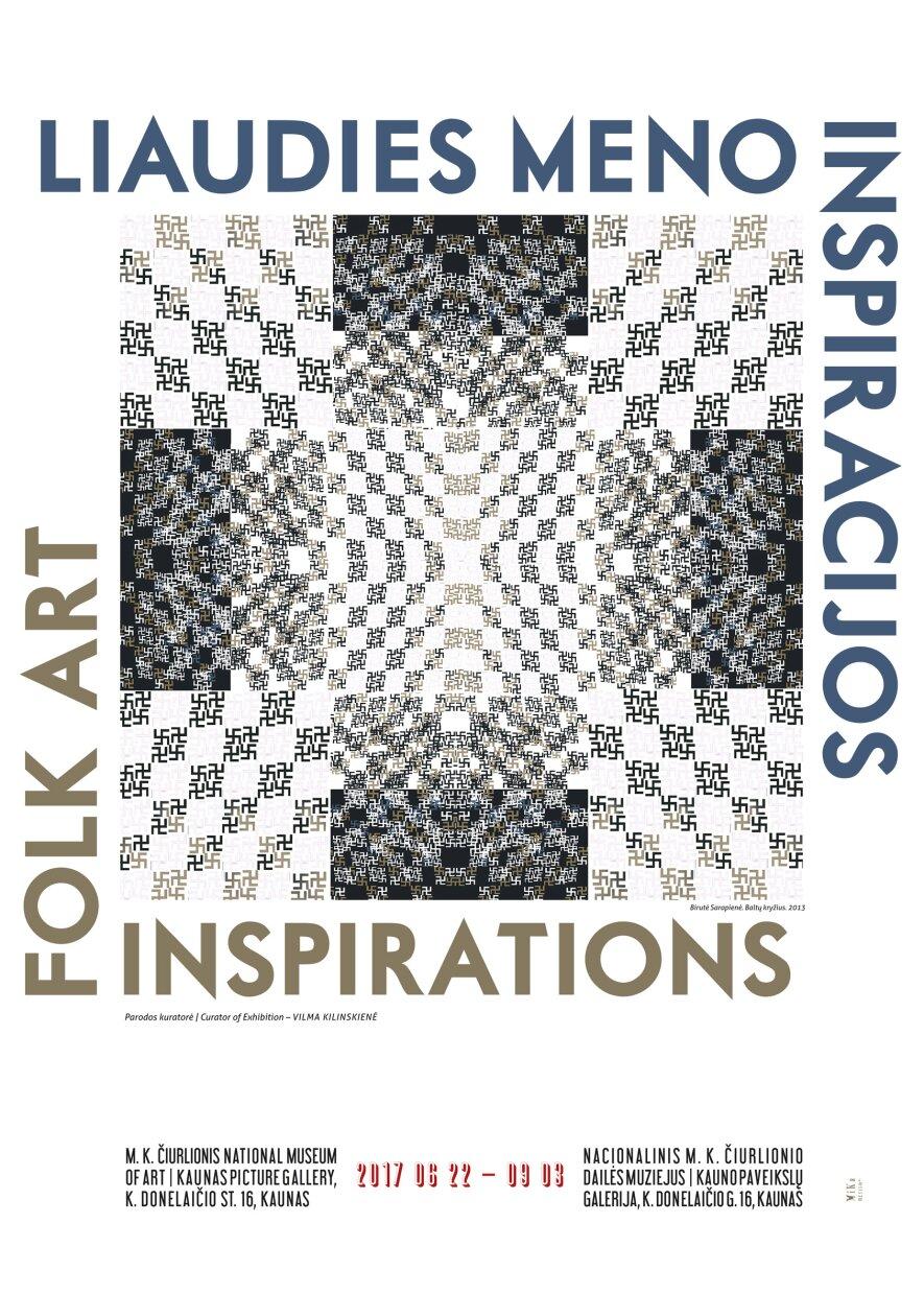 """Dailės paroda """"Liaudies meno inspiracijos"""""""