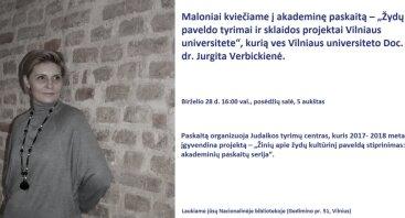 Žydų paveldo tyrimai ir sklaidos projektai Vilniaus universitete
