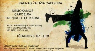 Kaunas žaidžia capoeira