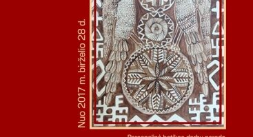 """Tautodailininkės Nijolės Jurkuvienės batikos kūrinių paroda """"Gyvybės medis"""""""