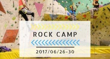 ROCK CAMP Laipiojimo ir alpinizmo stovykla jaunimui