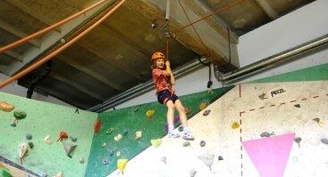 Dienos stovykla jaunimui - kaip tapti laipiotoju per 5 dienas!
