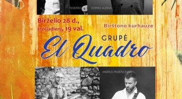 "Grupės ""EL Quadro"" koncertas"