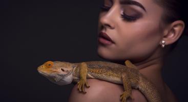 Profesionali Fotosesija su Egzotiniais Ropliais