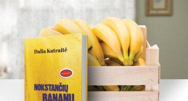 """Naujos Dalios Kutraitės knygos """"Nokstančių bananų kvapas"""" pristatymas"""