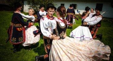 """Folkloro grupės """"Mystkowianie"""" koncertas"""