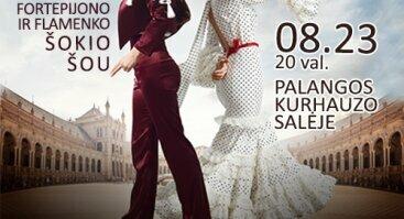 Crazy Women - aistringas fortepijono ir flamenko šokio šou