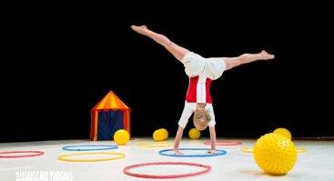 """Interaktyvus šokio spektaklis vaikams  """"Spalvoti žaidimai"""""""