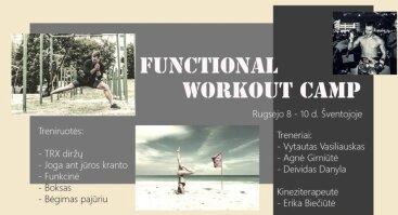 Functional workout camp Šventojoje