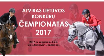 Atviras Lietuvos konkūrų čempionatas 2017