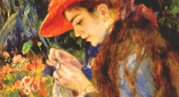 """Renginys suaugusiems """"Tapymas ant drobės pagal- Pierre-Auguste Renoir"""""""