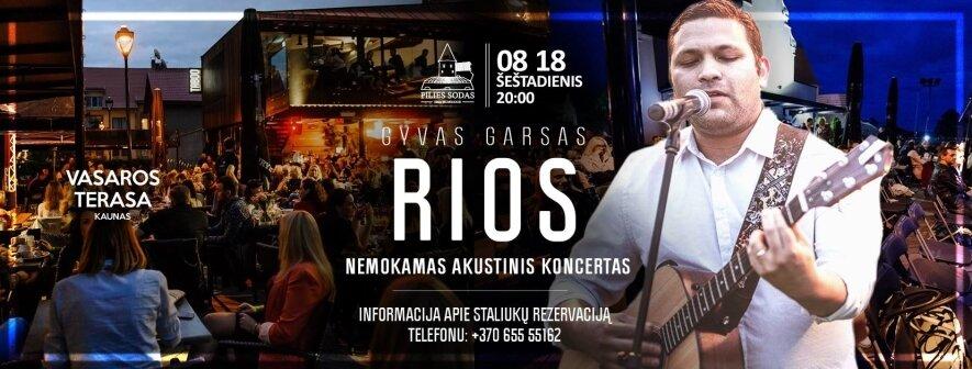 Daniel Rios akustinis koncertas