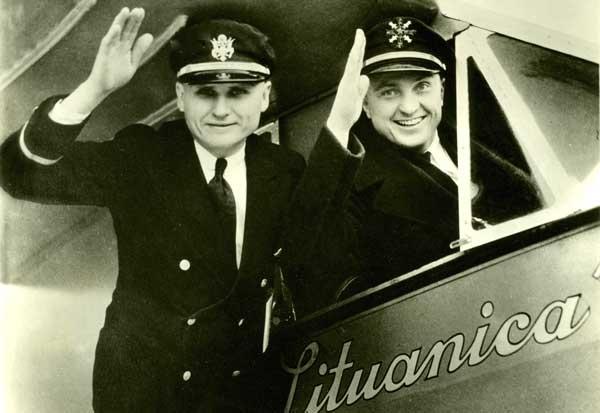 Stepono Dariaus ir Stasio Girėno skrydžio per Atlantą 84-ųjų metinių minėjimas