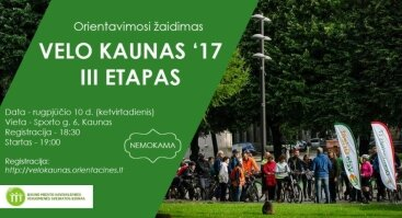 Velo Kaunas 2017 III etapas