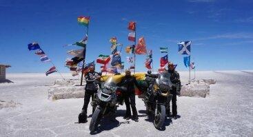 """Knygos """"Motociklais aplink pasaulį. Per Amerikos žemynus"""" pristatymas"""