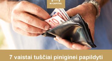 """""""7 vaistai tuščiai piniginei papildyti"""" Vilniuje"""