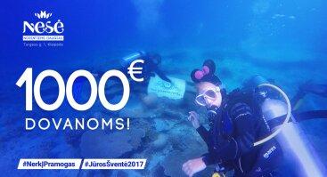 Nerk į pramogas - laimėk 1000 €