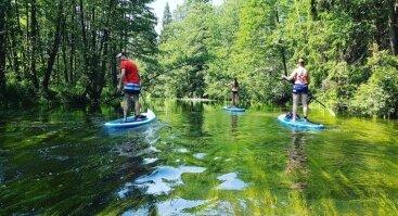 Irklenčių turas Šalčios upe #varomsupint