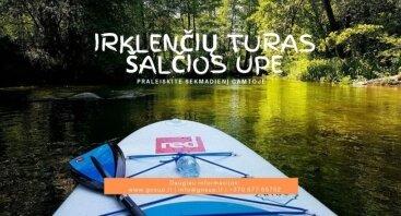 Irklenčių turas Šalčios upe 06-16