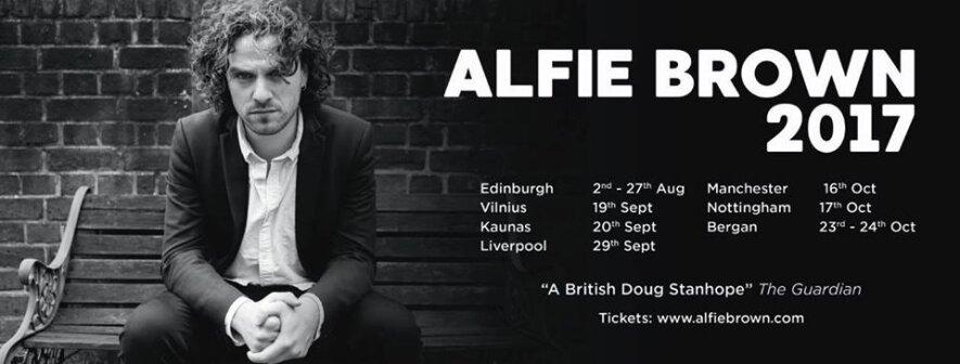Humoro klubas: Alfie Brown
