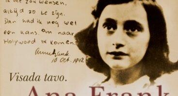 "Spektaklis ""Visada tavo. Ana Frank"""