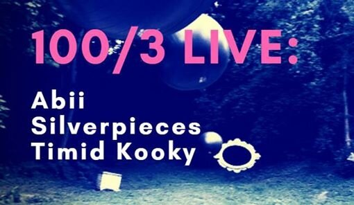 00/3 LIVE: Abii, Timid Kooky, Silverpieces