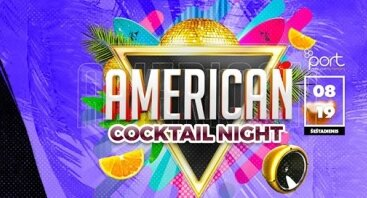 American cocktail NIGHT