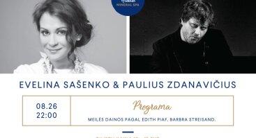 Evelina Sašenko ir Paulius Zdanavičius