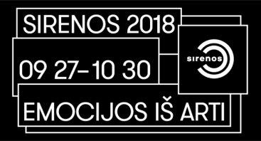 """Vilniaus tarptautinis teatro festivalis """"Sirenos 2018"""""""