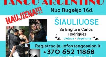 Argentinietiško Tango Pamokos Šiauliuose
